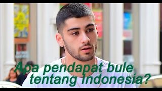 Apa Pendapat Bule Tentang Indonesia? (What people from all around the world think about Indonesia?)