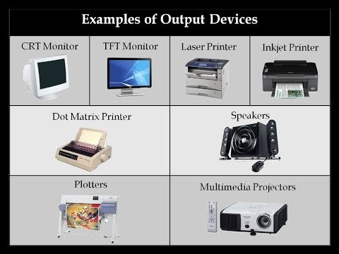 Output Devices - Computer Fundamentals | CG Computer Education