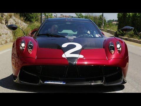 Pagani Huayra driven by Davide Cironi and Andrea Palma (ENG.SUBS)