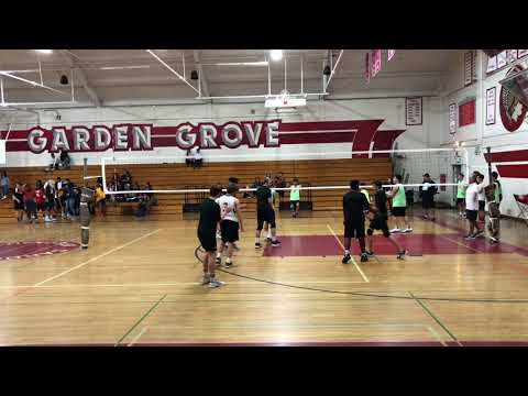 ERHS vs Garden Grove Boys Volleyball