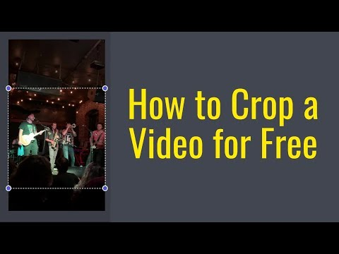 How to Crop a Video for Free Online