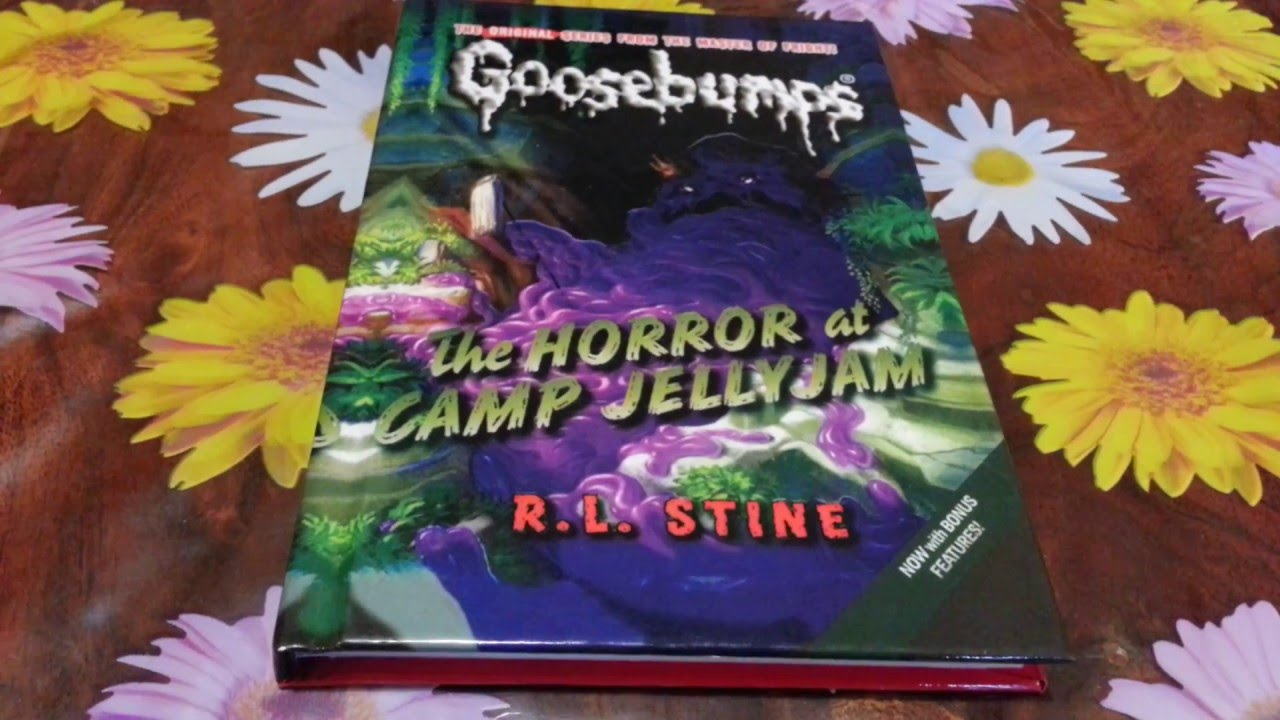 goosebumps book report