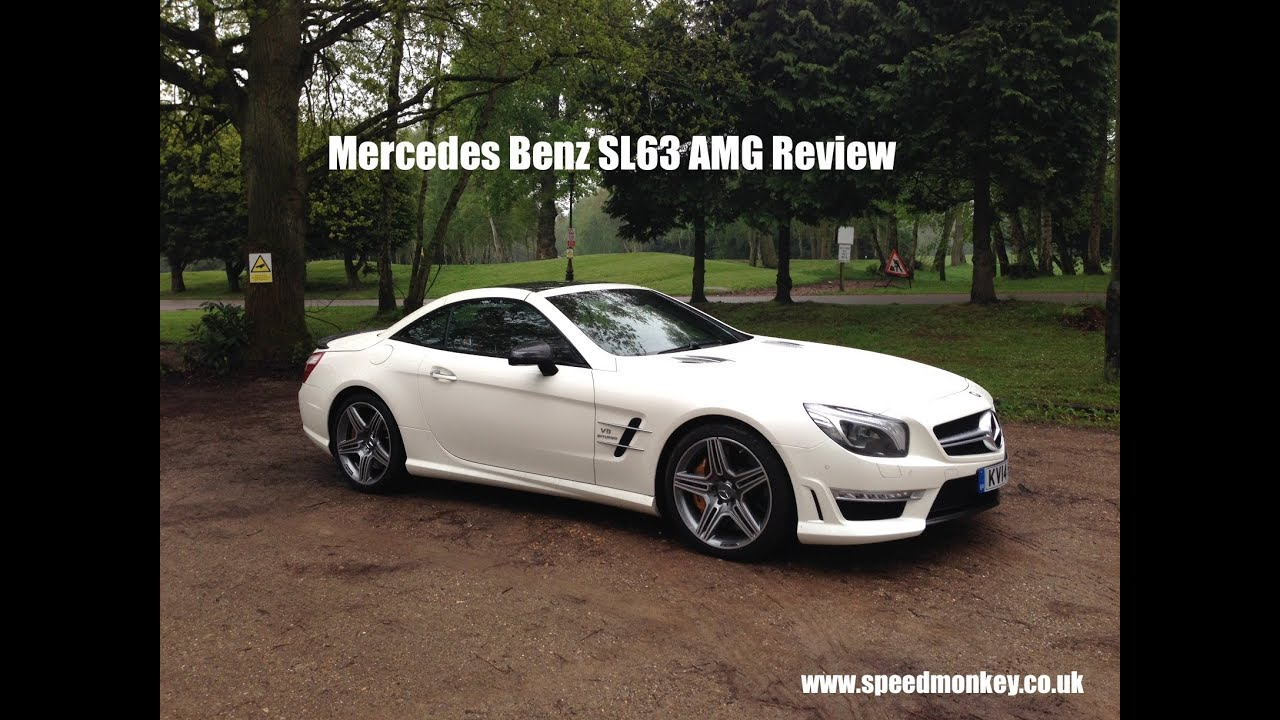 Mercedes Benz SL63 AMG 2014 Review