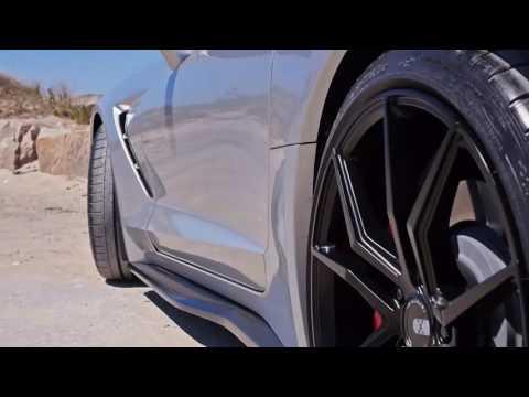 Custom Corvette C7 Stingray on XO Luxury Verona Wheels