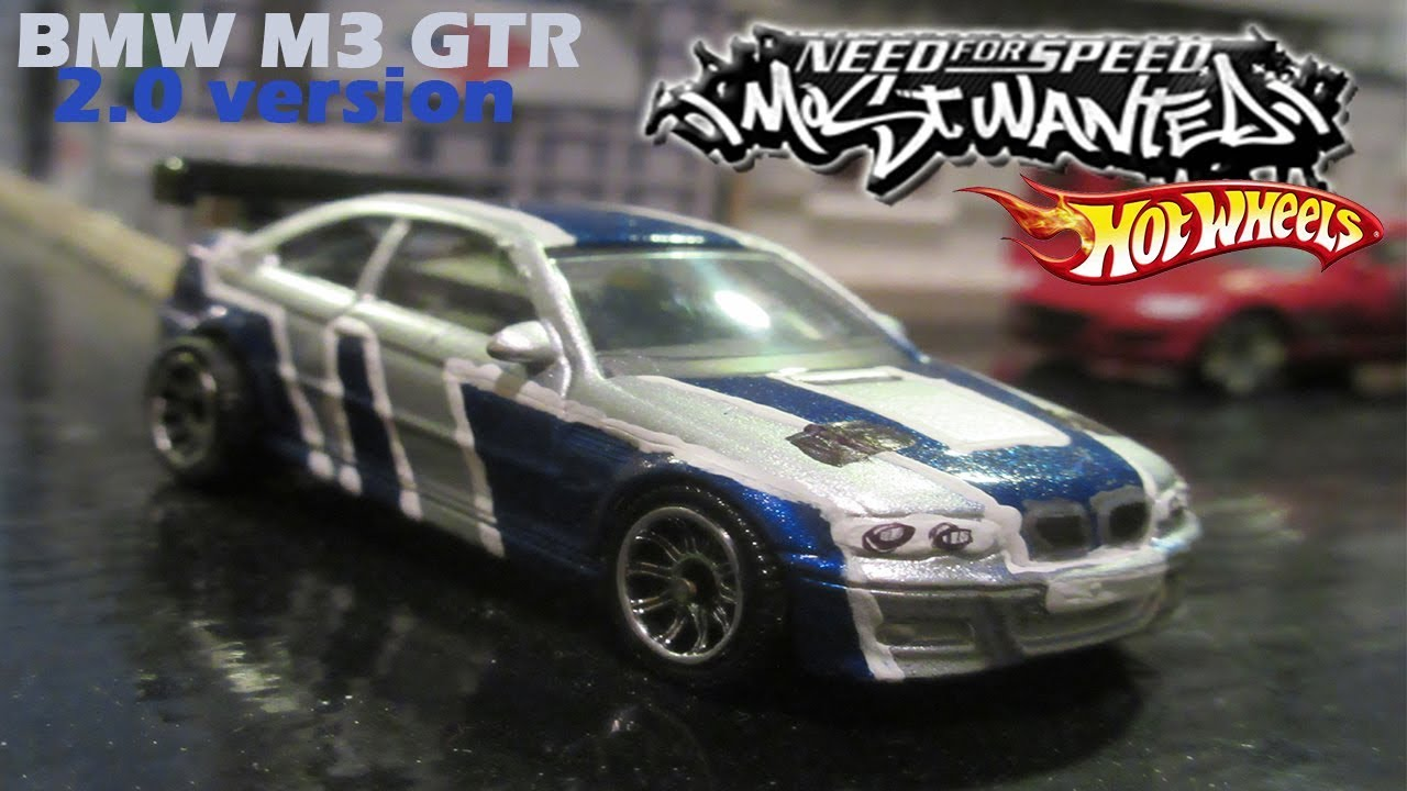 1 64 Scale Bmw M3 Gtr 2 0 Nfs Most Wanted