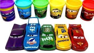 Disney Pixar Cars 3 Toys Play-Doh Lightning McQueen Strip Weathers Luigi Ramone Chick Hicks