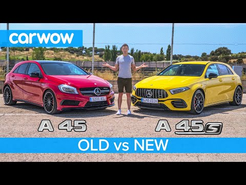 See how the Mercedes-AMG A45 S stacks up against its predecessor