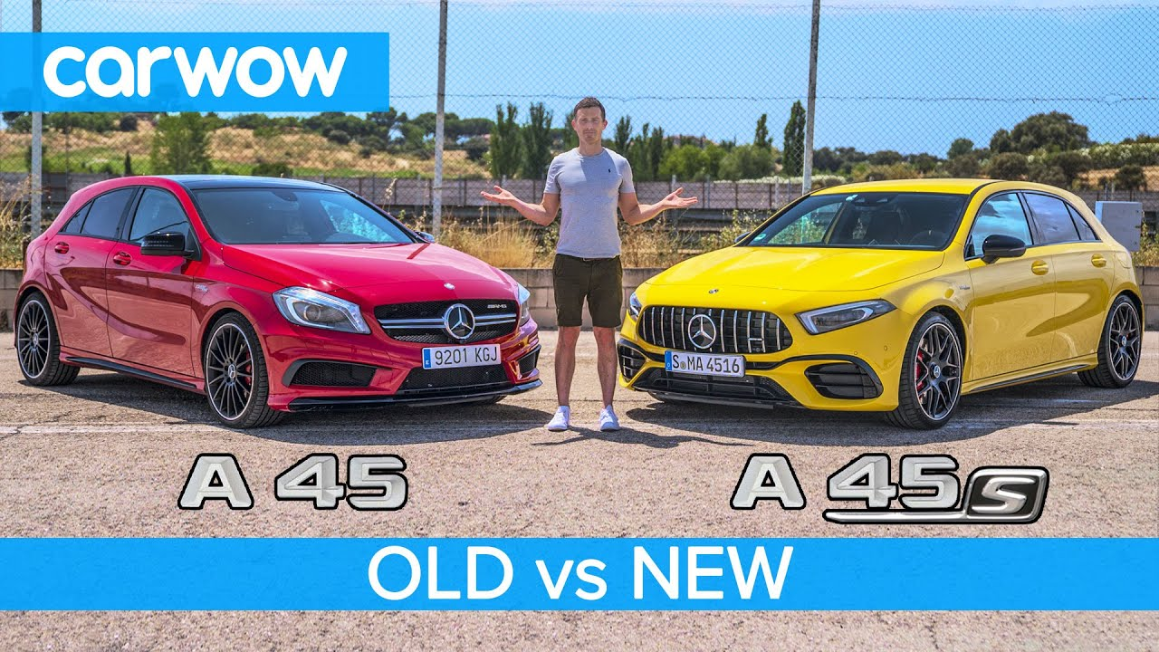 Download New AMG A45 S vs old AMG A45 review + 0-60, rolling race and drift test!