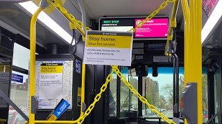 Riding the NYC Public Bus during COVID-19 (April 2020)