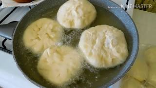 Пирожки как пух без молока! пирожки с картошкой/жареные пирожки/тесто для пирожков/узбекская кухня