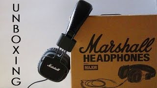 UNBOXING - MARSHALL MAJOR