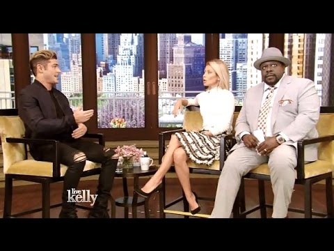 Zac Efron Chats Baywatch & Neighbors 2 #Kelly With Cedric the Entertainer