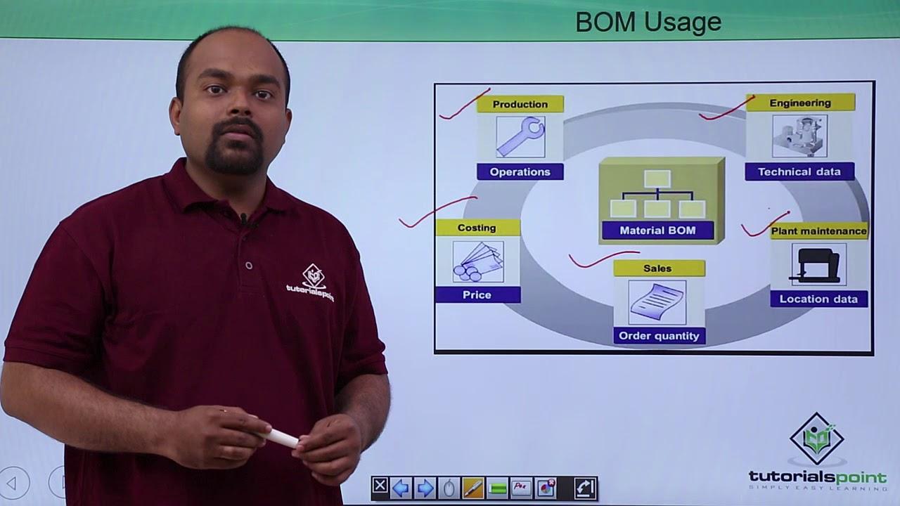 SAP PP - BOM Usage
