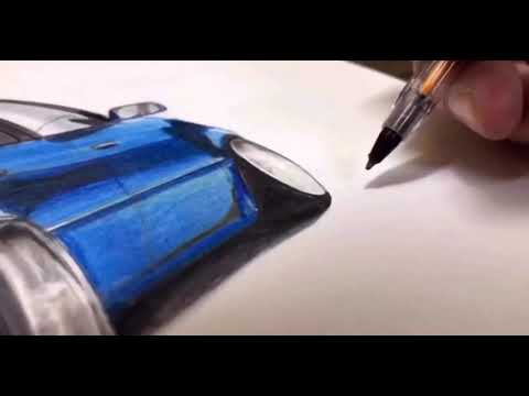 Timelapse Drawing Toyota Allion | @Sergvaldesart