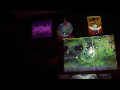 Video Projection Mapping at the Loft Winter 2012 Clip 2