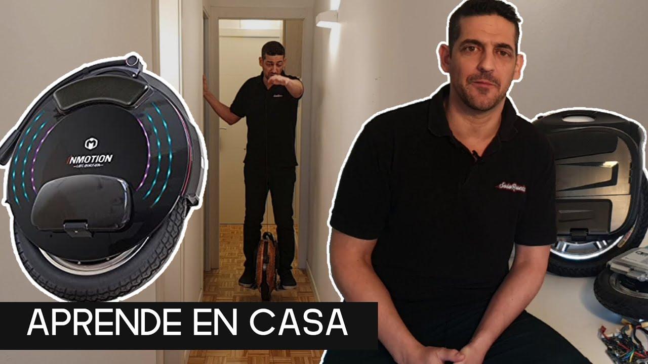 APRENDE A IR EN MONOCICLO ELÉCTRICO SIN SALIR DE CASA