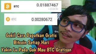 Salut, Ada Cara Dapatkan Bitcoin Gratis
