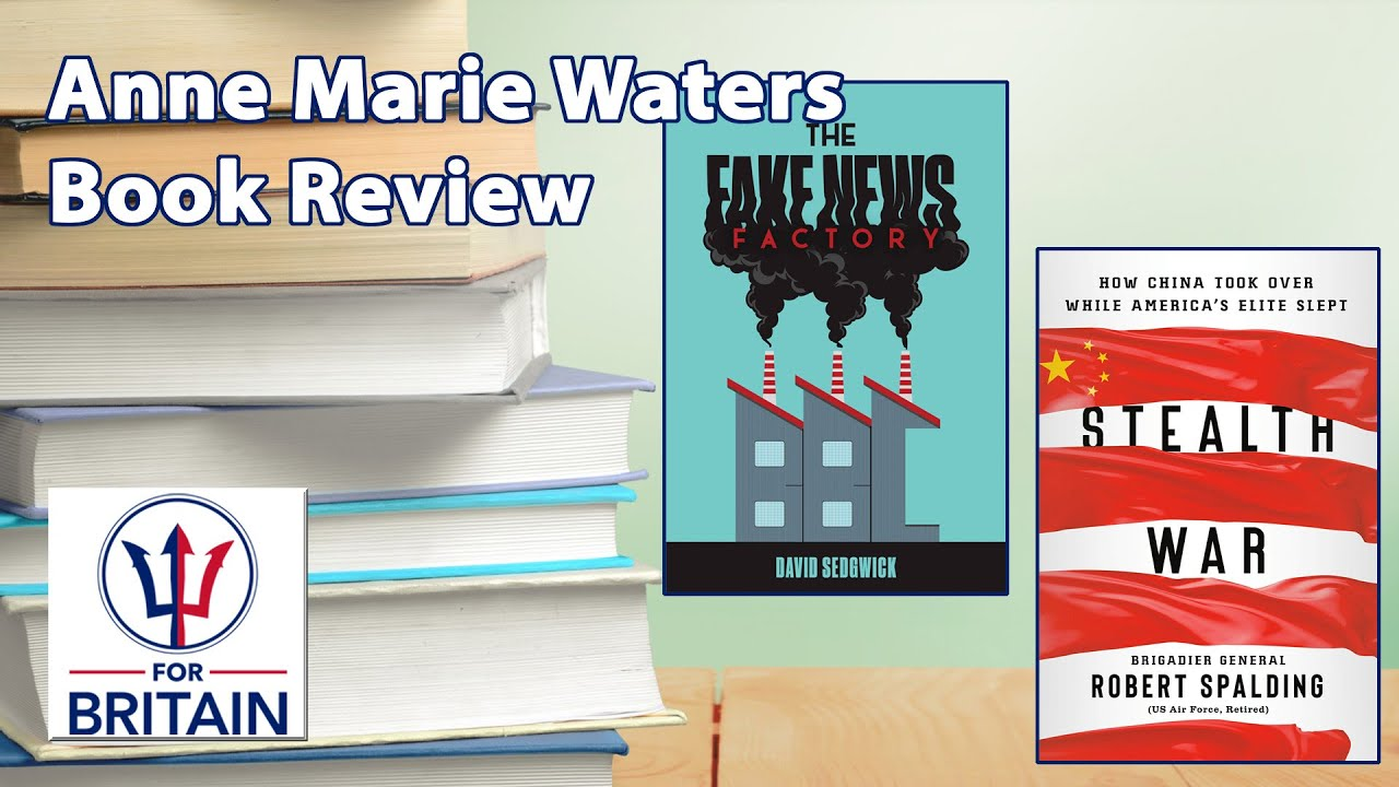 Anne Marie Waters // Thursday Book Review // For Britain