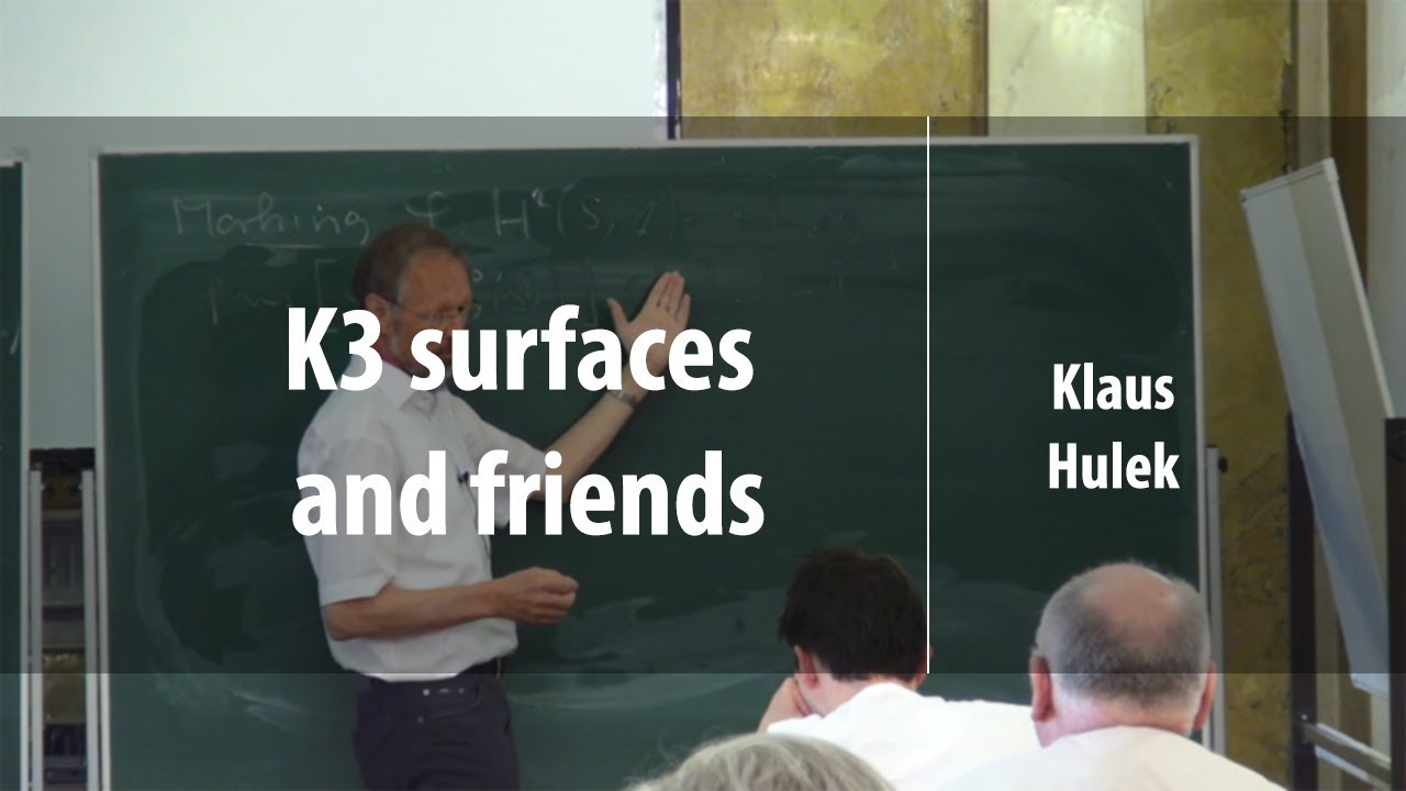K3 surfaces and friends | Klaus Hulek | Лекториум