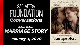 Conversations with Adam Driver of MARRIAGE STORY