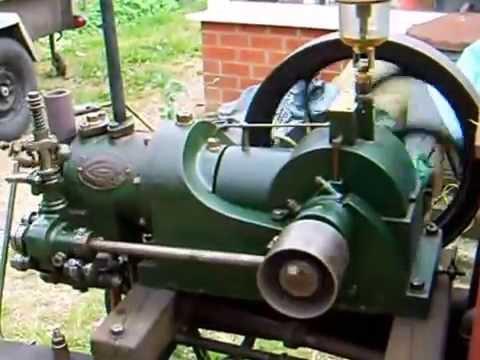 national gas engine model H 1907