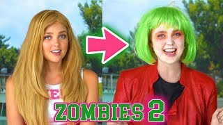 DISNEY ZOMBIES 2 ADDISON BECOMES A ZOMBIE. Zed also gets a human makeover. (Totally TV)