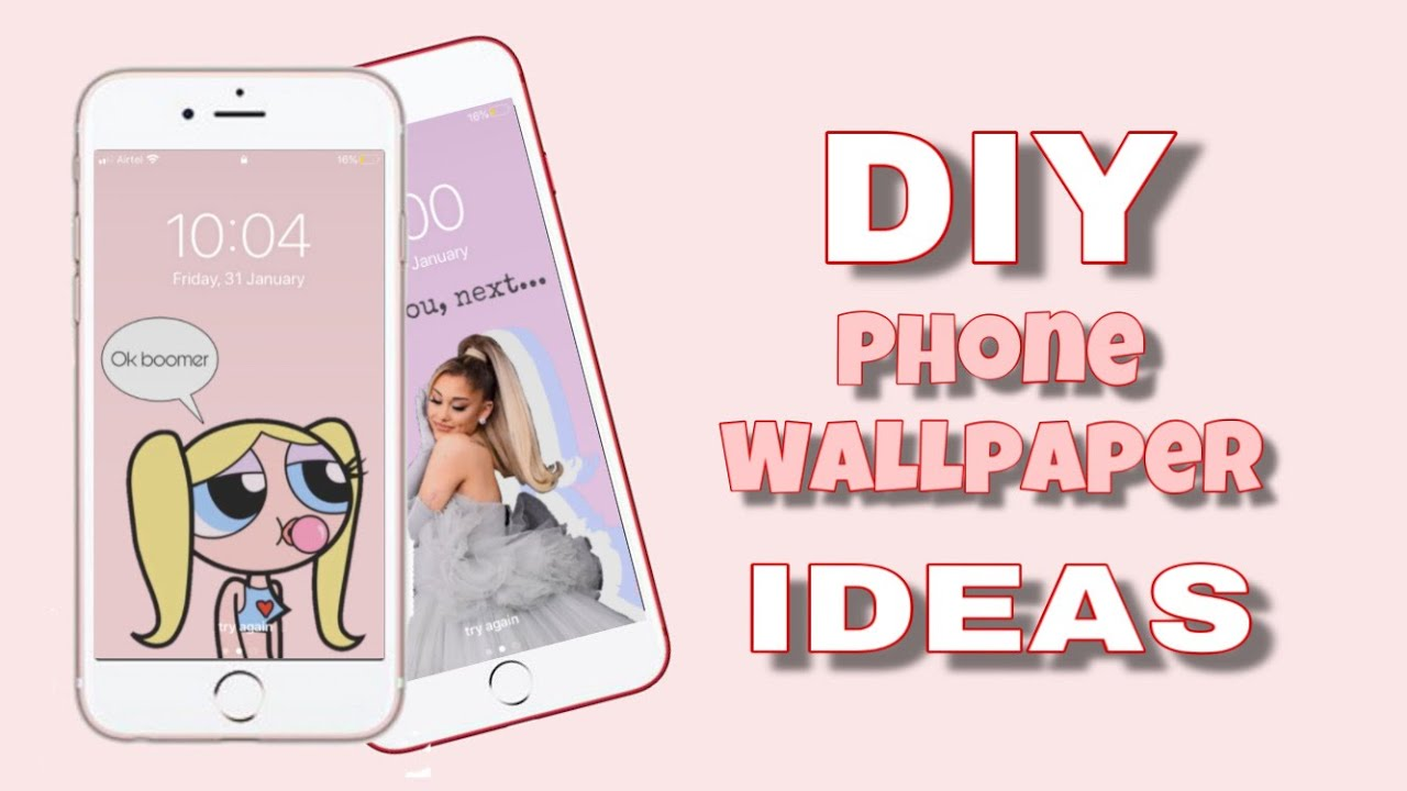 Diy Phone Wallpaper Ideas Ios And Android Youtube