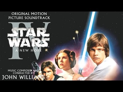 Star Wars Episode IV A New Hope (1977) Soundtrack 19 Shootout in the Cell Bay Dianoga Medley
