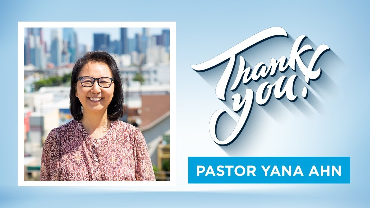 Thank You Pastor Yana