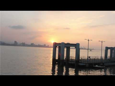 Tamsui river timelapse