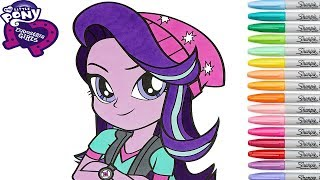 My Little Pony Coloring Book Pages Starlight Glimmer MLP MLPEG MLPEQG Princess  Rainbow Splash