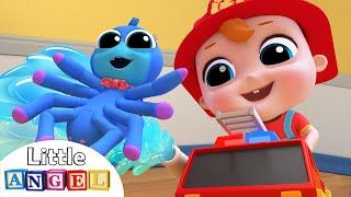 Itsy Bitsy Spider Needs Baby's Help | Nursery Rhymes by Little Angel