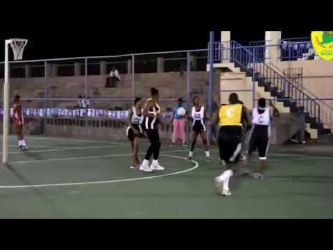 Grenada's Inter Sector Netball 2016 Highlights - Ministry of Sports vs Huggins Part 1