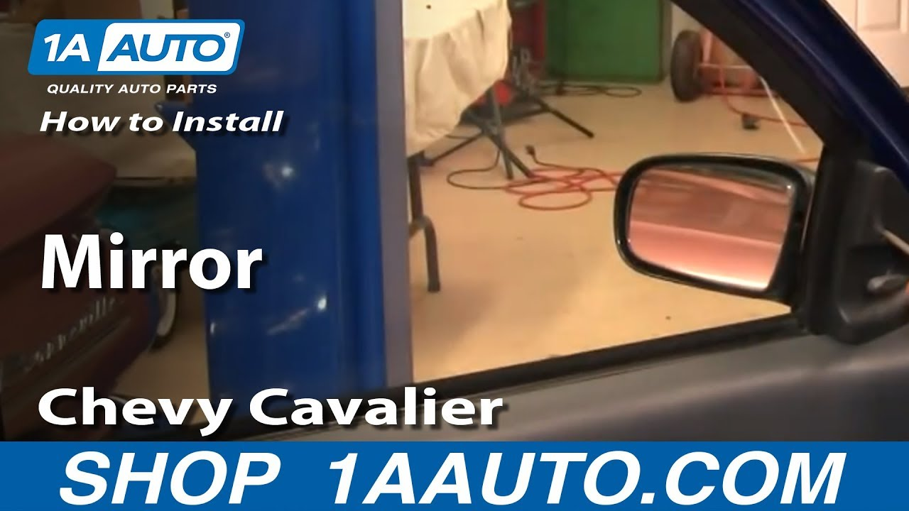how to install replace manual side rear view mirror chevy cavalier rh youtube com Do Yourself Car Repair Manual Haynes Repair Manuals