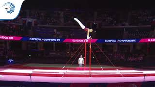 Krisztian BALAZS (HUN) - 2018 Artistic Gymnastics Europeans, junior high bar silver medallist