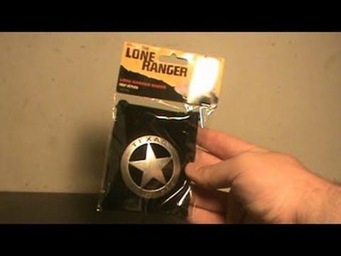 NECA The Lone Ranger Replica Badge Review