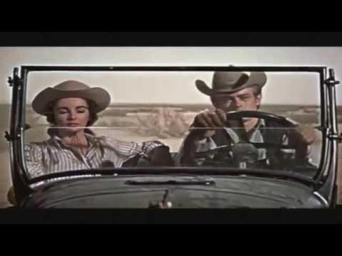 Giant - James Dean & Elizabeth Taylor