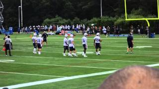 2014 Patriots Training Camp Day 1