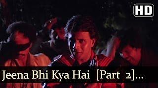 Jeena Bhi Kya Hai Jeena - Mithun Chakraborty - Kasam Paida Karne Wale Ki - Hindi Fun Songs