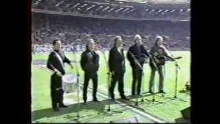 Moody Blues sing God Save the Queen - World Football Game