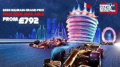 FORMULA 1 GULF AIR BAHRAIN GRAND PRIX 2019 - PACKAGES