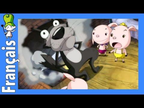 Les trois petits cochons dessin anim en fran ais c doovi - Dessin anime les 3 petit cochons ...