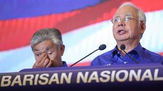 Malaysian prime minister Najib Razak refuses to admit defeat
