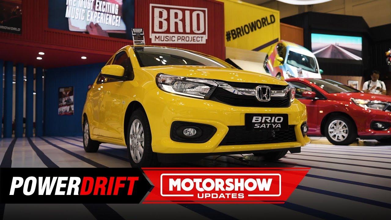 New Honda Brio Bolder And Better Giias 2019 Powerdrift