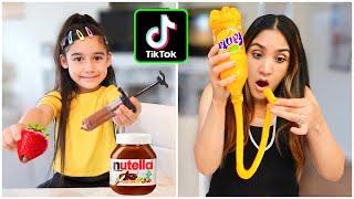 We Tested VIRAL TikTok FOOD HACKS!!  *UNBELIEVABLE* (Part 2)   Jancy Family