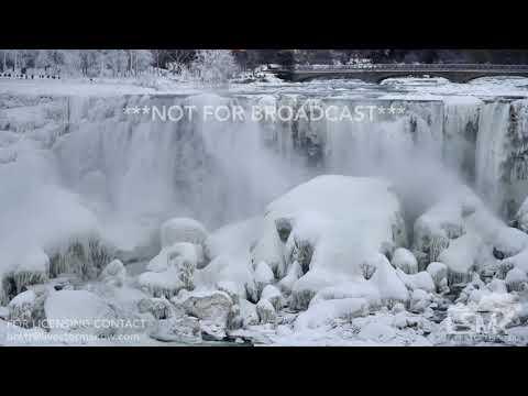 01-07-2018 Niagara Falls, NY -Niagra Falls frozen with SOT