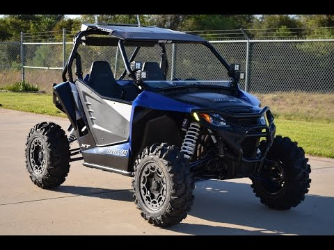 $18,999:  2015 Arctic Cat Wildcat Sport XT Loaded with Upgra