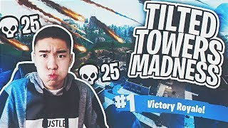 HOW I DROPPED 25 KILLS ON SOLOS! Tilted Tower Madness!