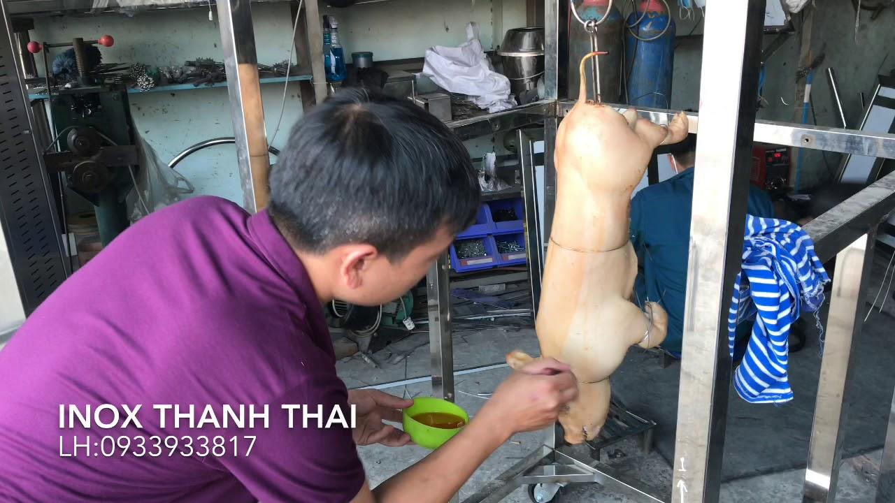 Khách Thử Lò Quay Heo 2 Họng Ga (T2_910) 0933933817