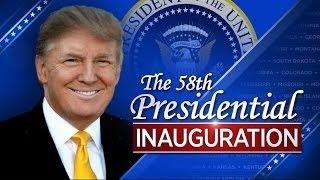美國第45任總統唐納川普宣誓就職 就職演說 the 58th presidential inauguration